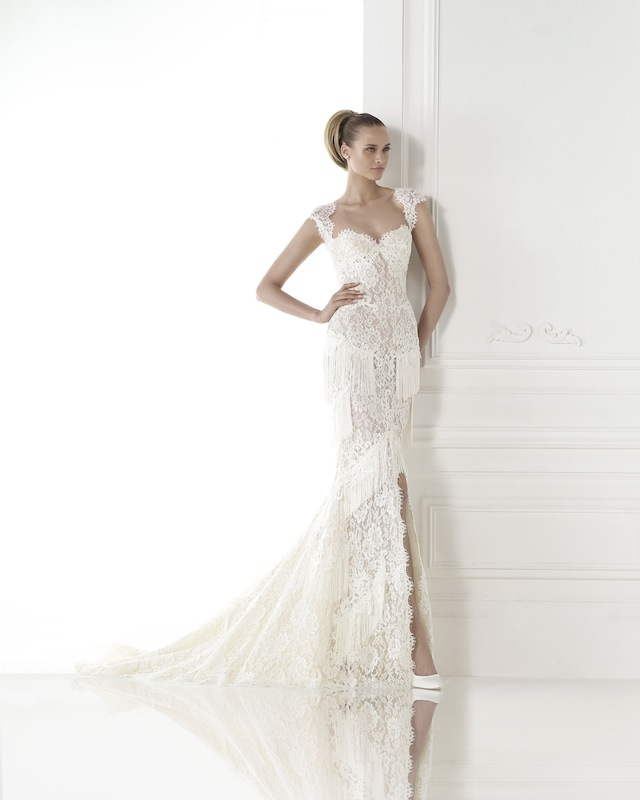 "Pronovias' ""Carendina."" Available in Charleston through Gown Boutique of Charleston."