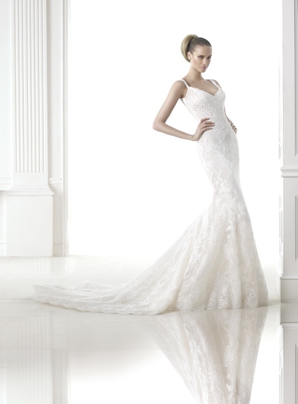 "Pronovias' ""Carlene."" Available in Charleston through Gown Boutique of Charleston."