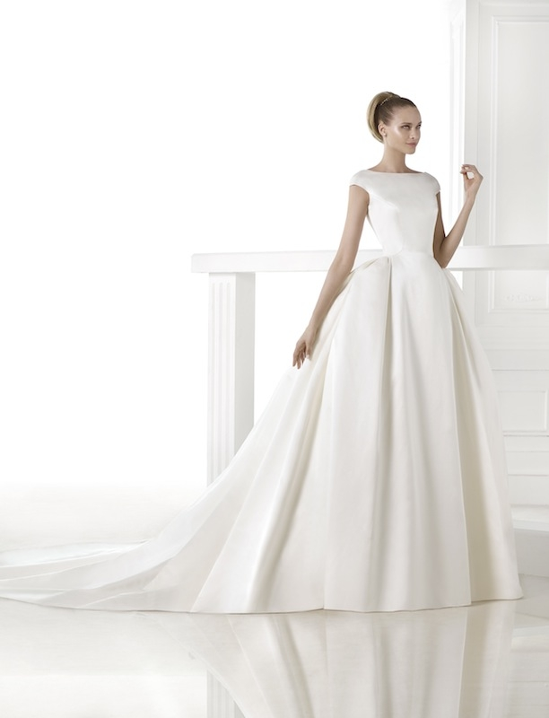 "Pronovias' ""Casares."" Available in Charleston through Gown Boutique of Charleston."