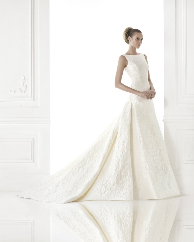 "Pronovias' ""Cayetana."" Available in Charleston through Gown Boutique of Charleston."