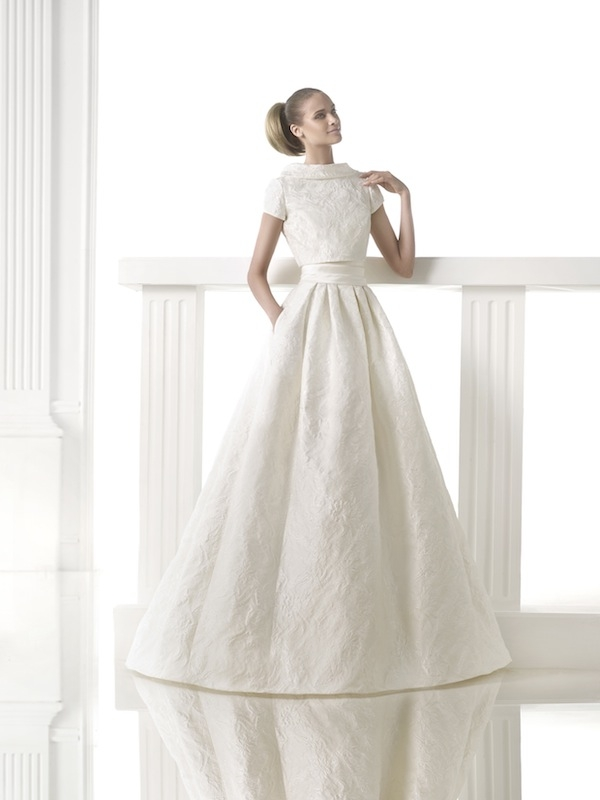 "Pronovias' ""Ceila."" Available in Charleston through Gown Boutique of Charleston."