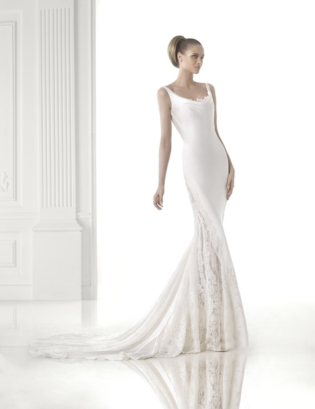 "Pronovias' ""Celmira."" Available in Charleston through Gown Boutique of Charleston."