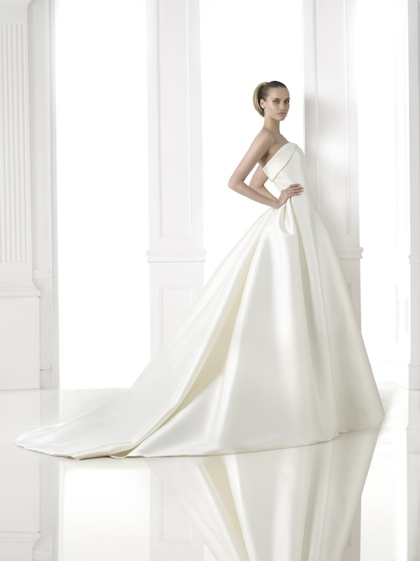 "Pronovias' ""Chandra."" Available in Charleston through Gown Boutique of Charleston."