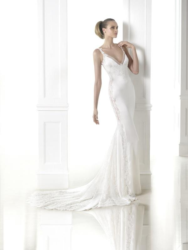 "Pronovias' ""Chantal."" Available in Charleston through Gown Boutique of Charleston."