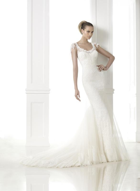 "Pronovias' ""Charal."" Available in Charleston through Gown Boutique of Charleston."