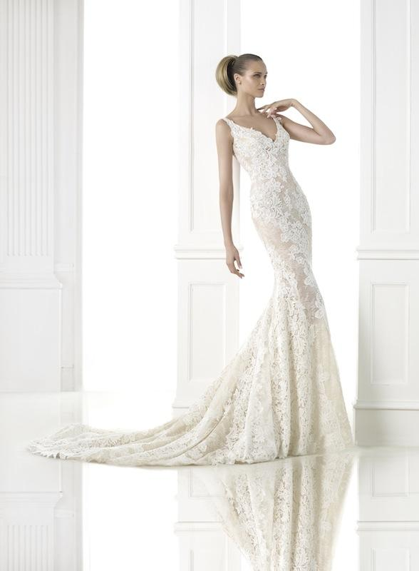"Pronovias' ""Charise."" Available in Charleston through Gown Boutique of Charleston."