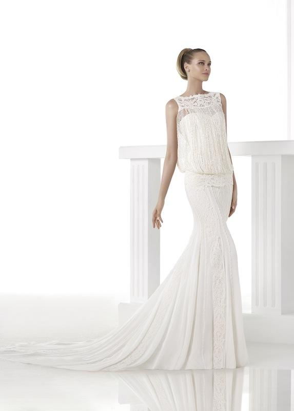 "Pronovias' ""Cindy."" Available in Charleston through Gown Boutique of Charleston."