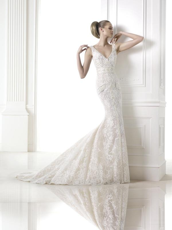 "Pronovias' ""Connie."" Available in Charleston through Gown Boutique of Charleston."