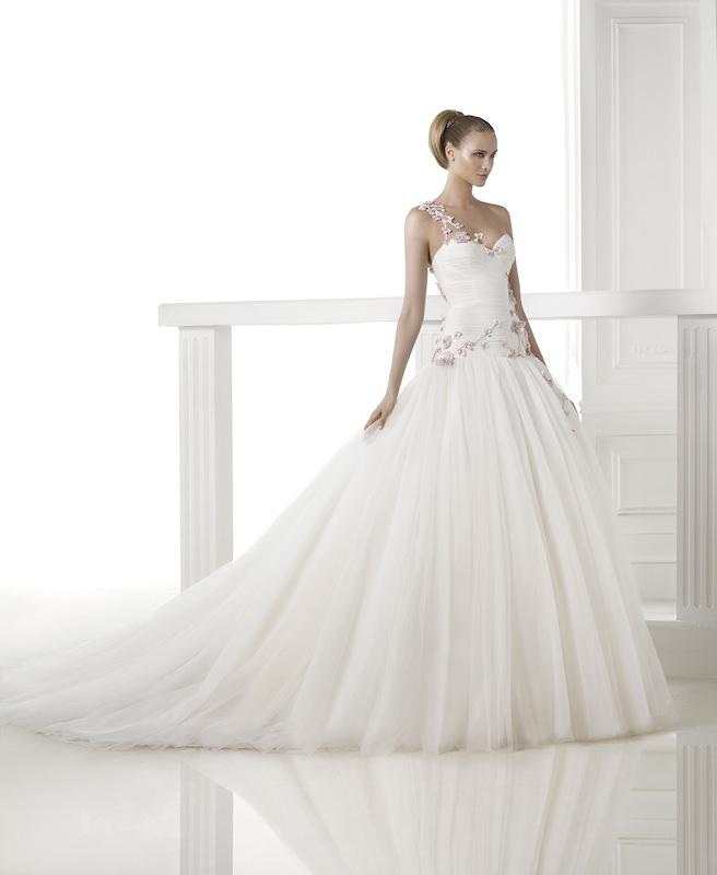 "Pronovias' ""Corina."" Available in Charleston through Gown Boutique of Charleston."