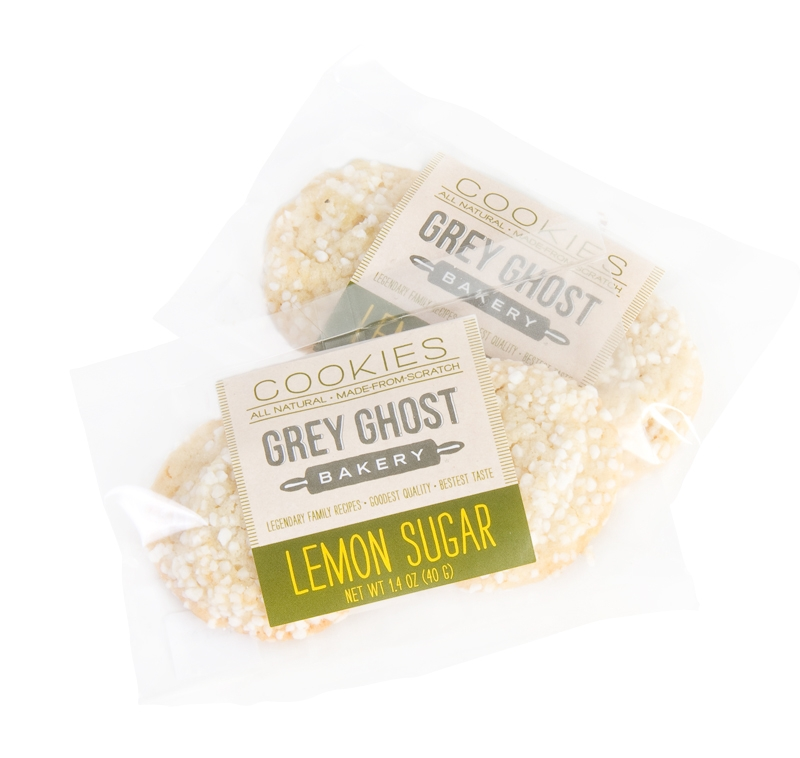 HAUNTED SWEETS: Grey Ghost Bakery's lemon sugar cookies