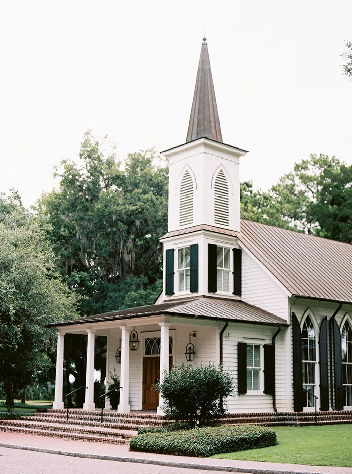 The Waterside Chapel sits on the May River.