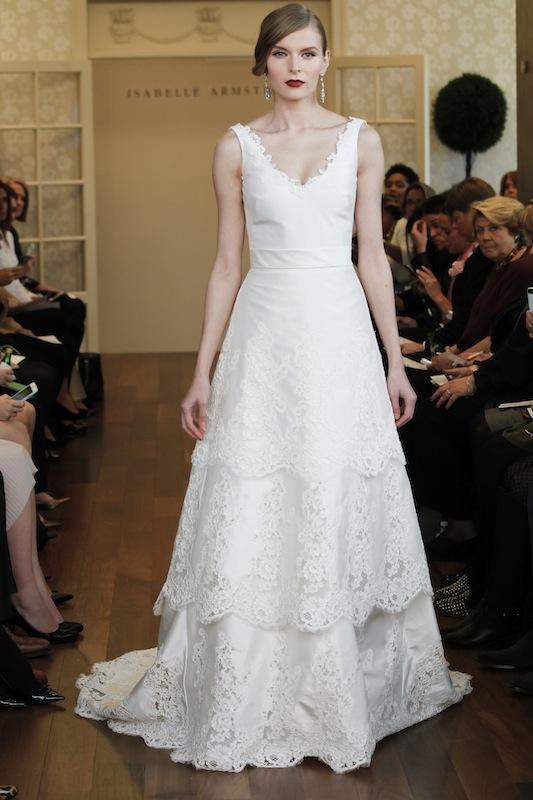 "Isabelle Armstrong's ""Caroline."" Available in Charleston through Gown Boutique of Charleston."
