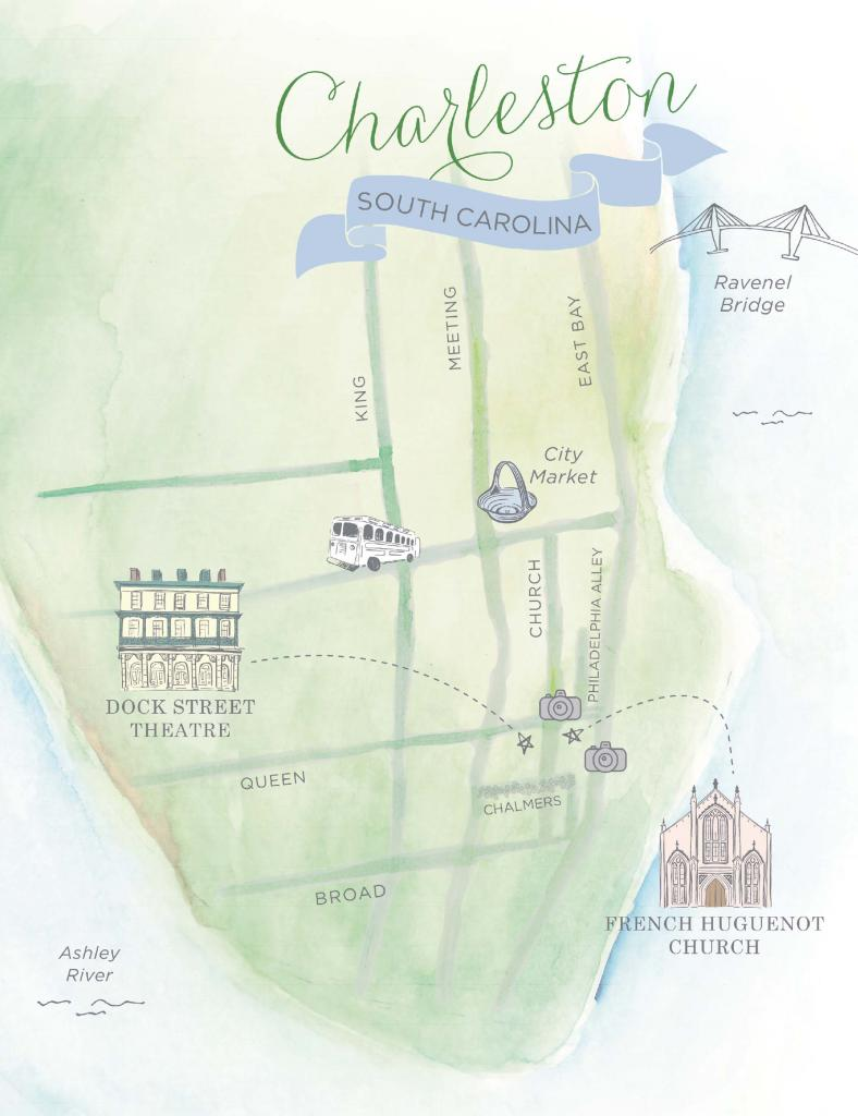 Custom map by Studio R Design