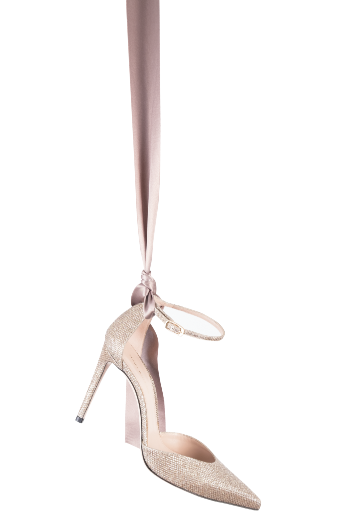 "Stuart Weitzman's ""Alterego"" velvet stiletto from Shoes on King ($450)"