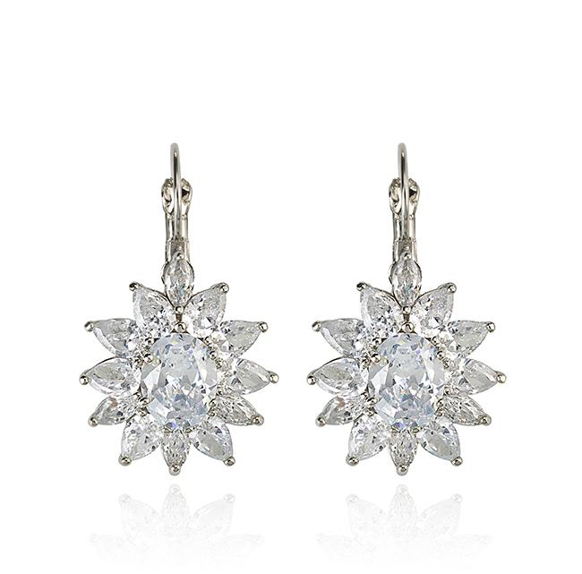 "Samantha Wills' ""Diamond Heart"" petite drop earrings. Available through SamanthaWills.com."