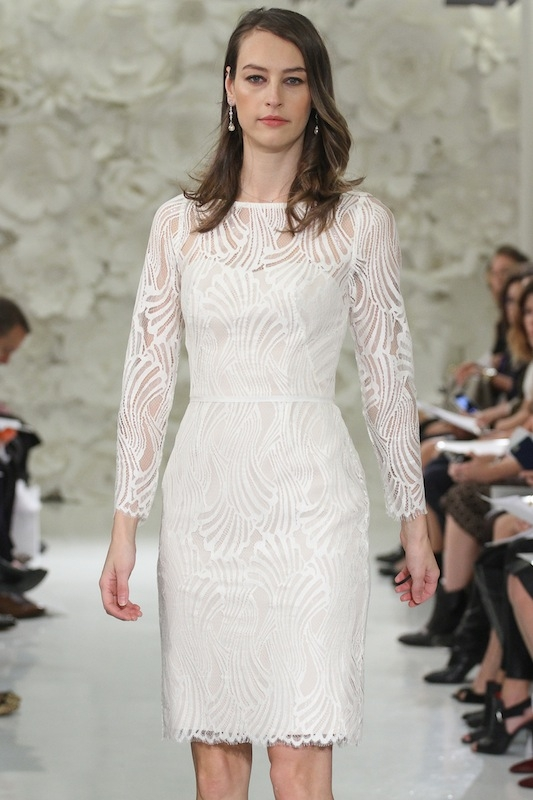 """Encore by Watters' """"Currant"""" (style 7200E). Available in Charleston through Bella Bridesmaids."""