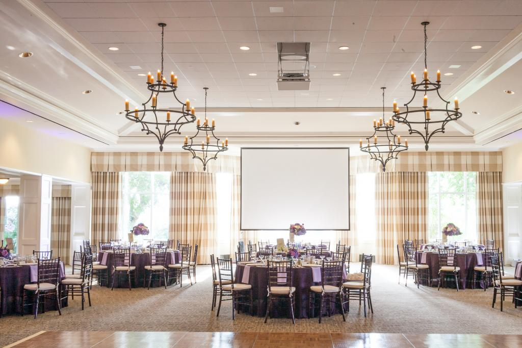 Wedding design by Karen Porreca of Simply Eventful Charleston. Rentals and linens by EventWorks. Florals by OK Florist. Photograph by Dana Cubbage Weddings at the Daniel Island Club.