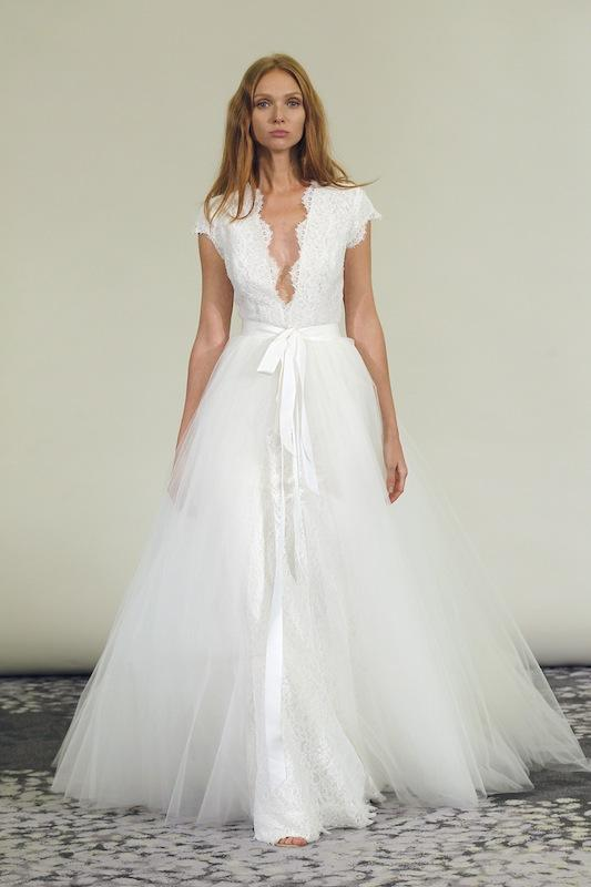 Fall 2015 gown by Alyne Bridal. Available on AlyneBridal.com.