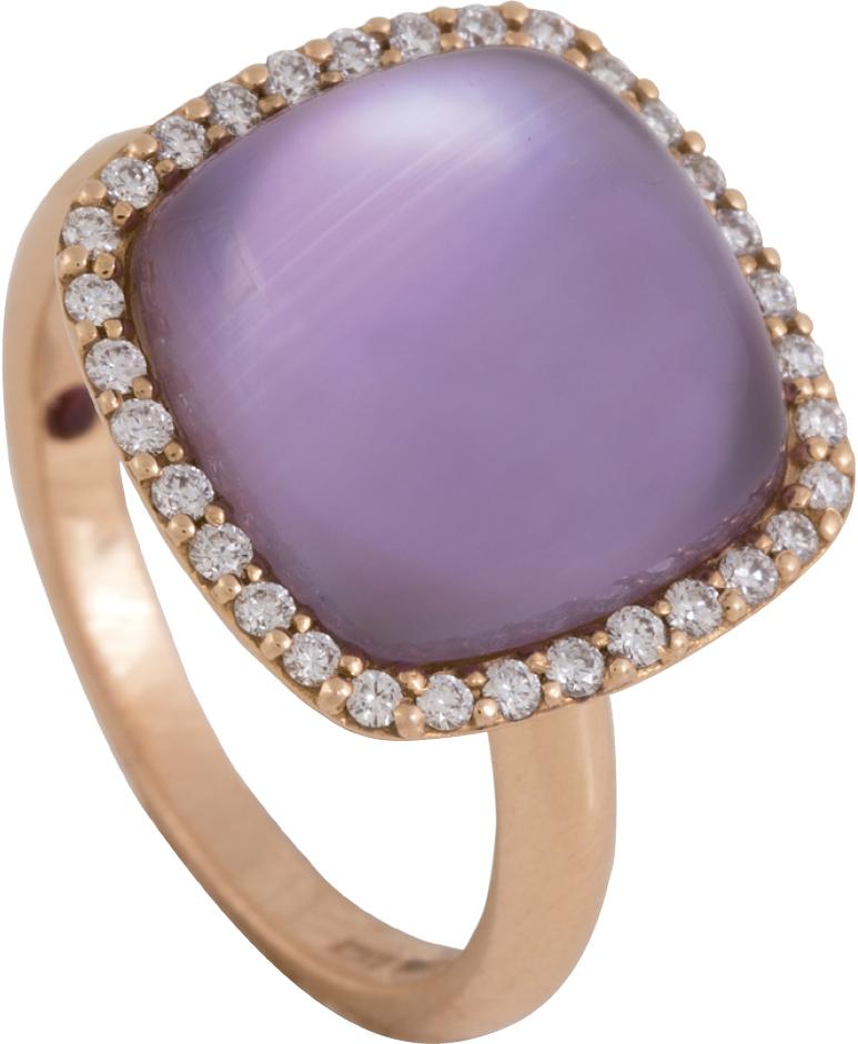 Gold amethyst and diamond (.24 total cts.) ring from Roberto Coin ($1,750)