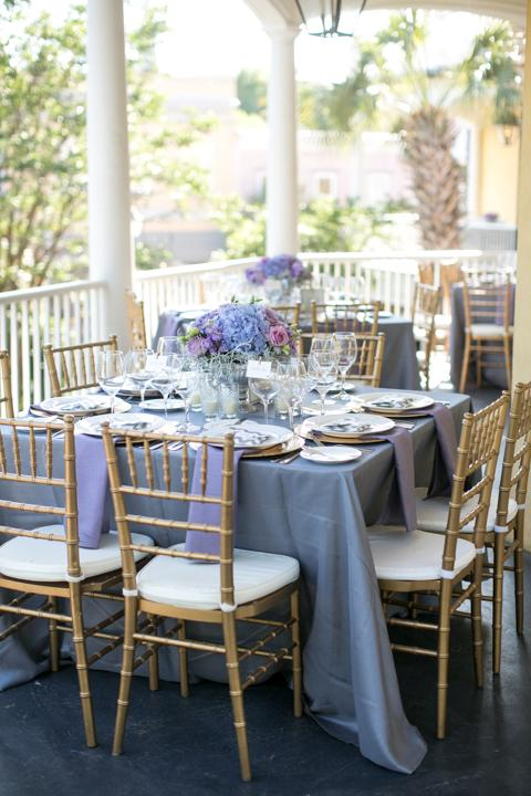PROBLEM SOLVED: To combat Christine's concerns about seating guests in three separate dining rooms, Melissa came up with a creative solution: arranging tables along the terrace, which created an easy flow from room to room.
