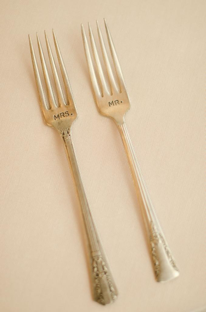 Flatware by Snyder Events. Image by Ava Moore Photography.