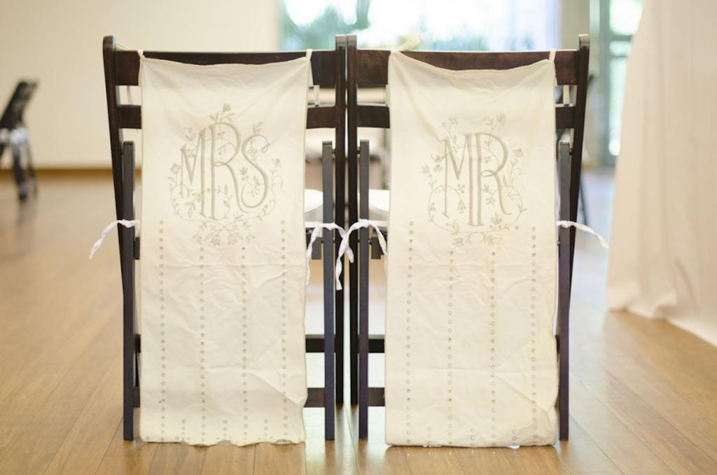 Wedding design by Boutique Planning. Chairs by Snyder Events. Image by Ava Moore Photography.