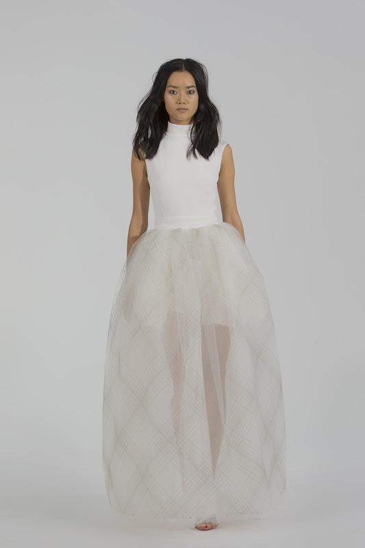 "Houghton Bride's ""Lily."" Available through HoughtonNYC.com."