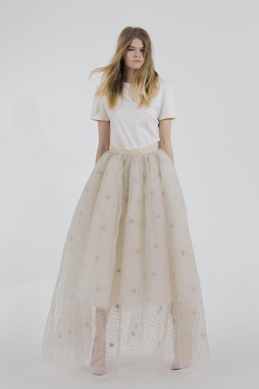 "Houghton Bride's ""Evelina."" Available through HoughtonNYC.com."