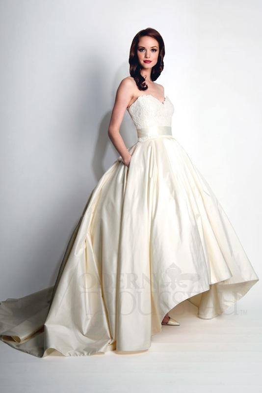 "Modern Trousseau's ""Honor."" Available in Charleston through Modern Trousseau."