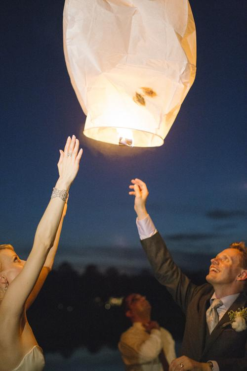 LIGHT UP THE NIGHT: If choosing to release lanterns, canvas your surroundings to ensure the lit lanterns don't land near buildings or trees.