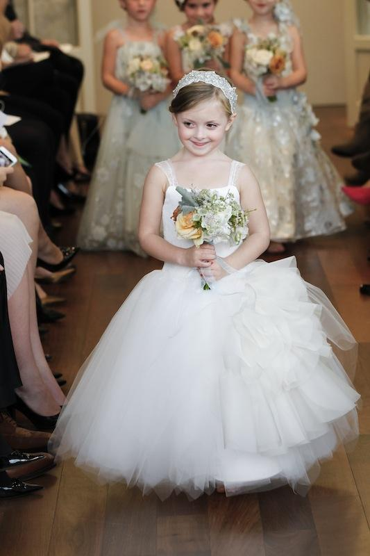 "Isabelle Armstrong's ""Irina Flower Girl."" Available in Charleston through Gown Boutique of Charleston."