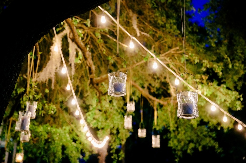 Lighting by Innovative Event Services. Image by Dana Cubbage Weddings.