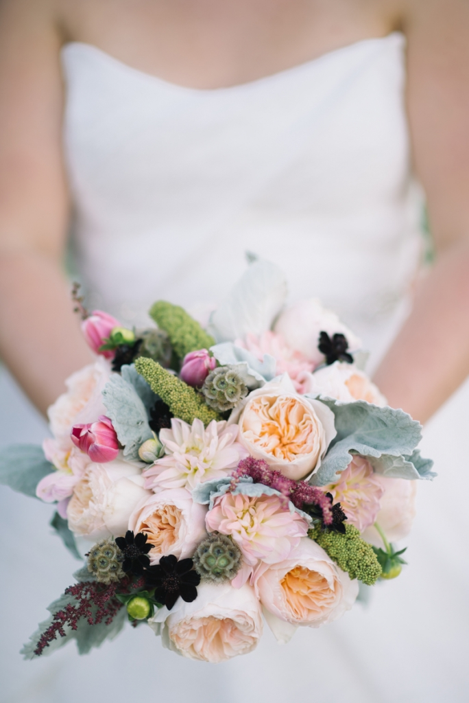 Bouquet by A Charleston Bride. Photograph by Sean Money & Elizabeth Fay.