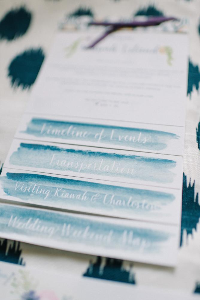 Stationery suite by Blue Glass Design. Photograph by Sean Money & Elizabeth Fay.