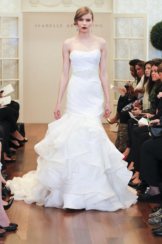 "Isabelle Armstrong's ""Jordana."" Available in Charleston through Gown Boutique of Charleston."