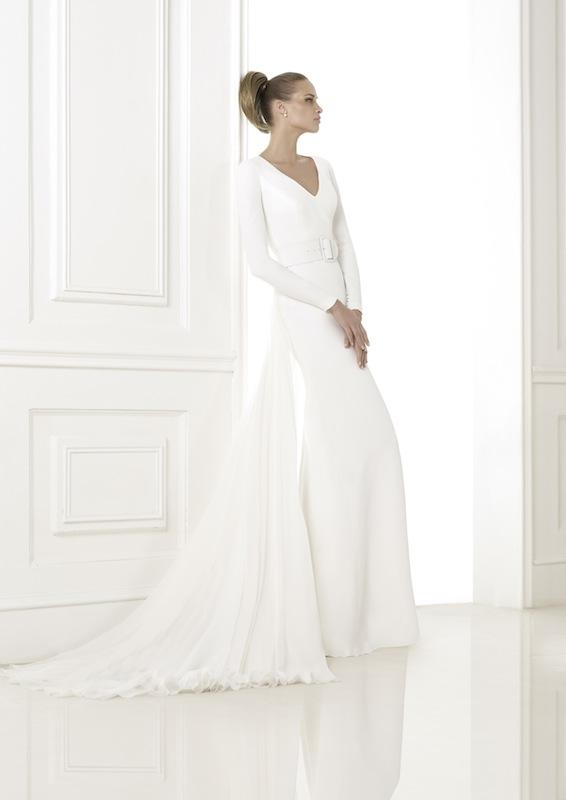 "Pronovias' ""Kaela."" Available in Charleston through Gown Boutique of Charleston."