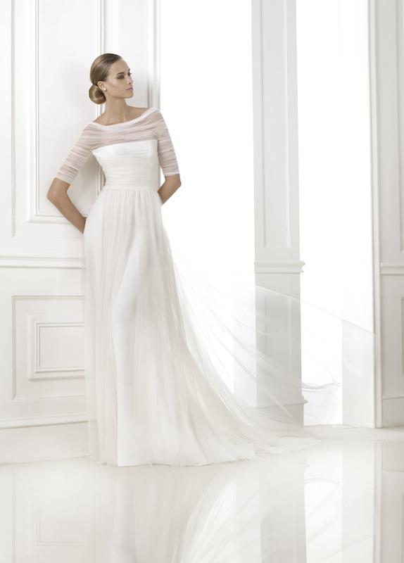 "Pronovias' ""Kaiden."" Available in Charleston through Gown Boutique of Charleston."