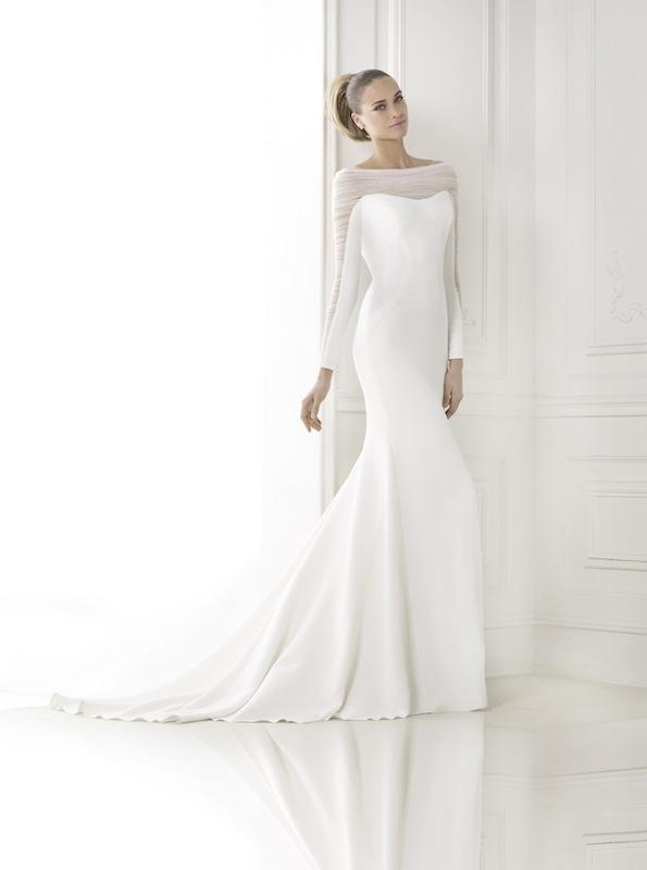 "Pronovias' ""Kainda."" Available in Charleston through Gown Boutique of Charleston."