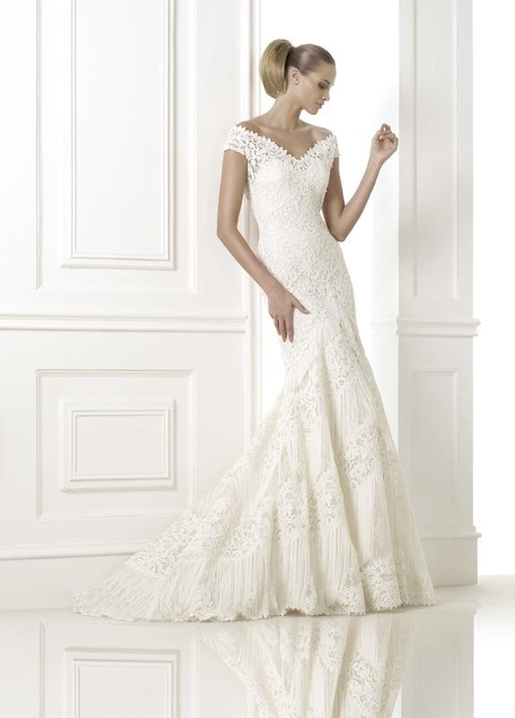 "Pronovias' ""Kaira."" Available in Charleston through Gown Boutique of Charleston."