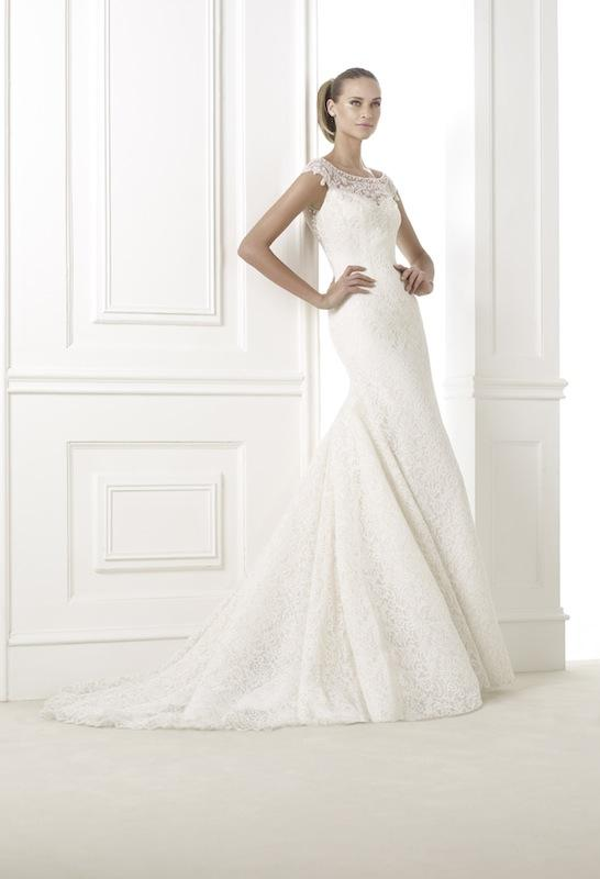 "Pronovias' ""Kairos."" Available in Charleston through Gown Boutique of Charleston."