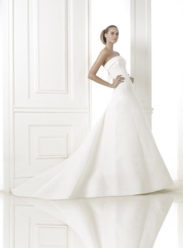 "Pronovias' ""Kaisha."" Available in Charleston through Gown Boutique of Charleston."
