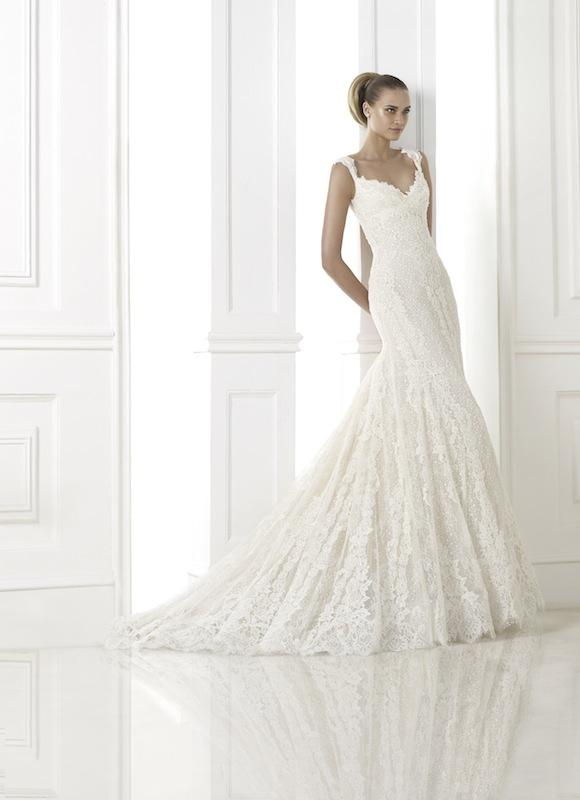 "Pronovias' ""Kala."" Available in Charleston through Gown Boutique of Charleston."