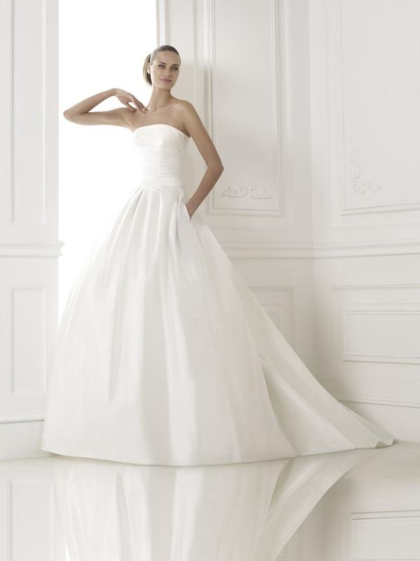 "Pronovias' ""Kalea."" Available in Charleston through Gown Boutique of Charleston."