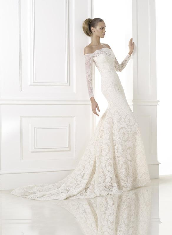 "Pronovias' ""Kampara."" Available in Charleston through Gown Boutique of Charleston."