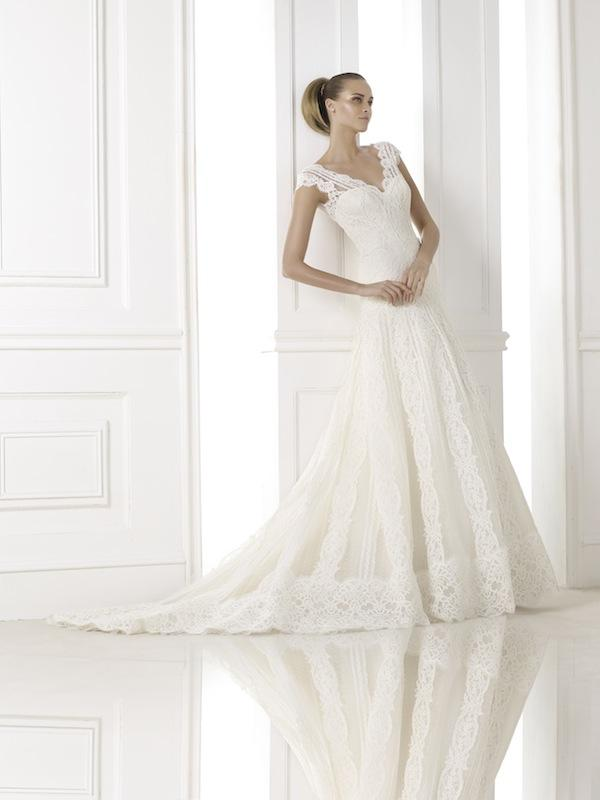 "Pronovias' ""Kande."" Available in Charleston through Gown Boutique of Charleston."