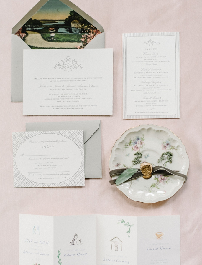 Photograph by Sean Money + Elizabeth Fay. Stationery by Sarah Drake Design.