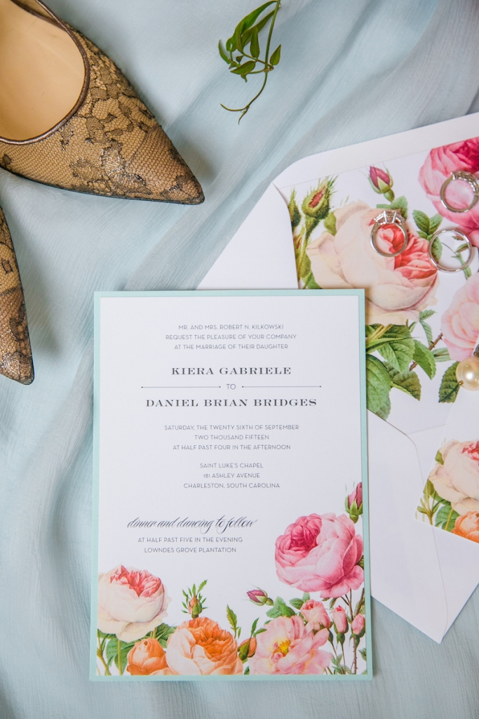 Stationery by The Silver Starfish. Image by Dana Cubbage Weddings.