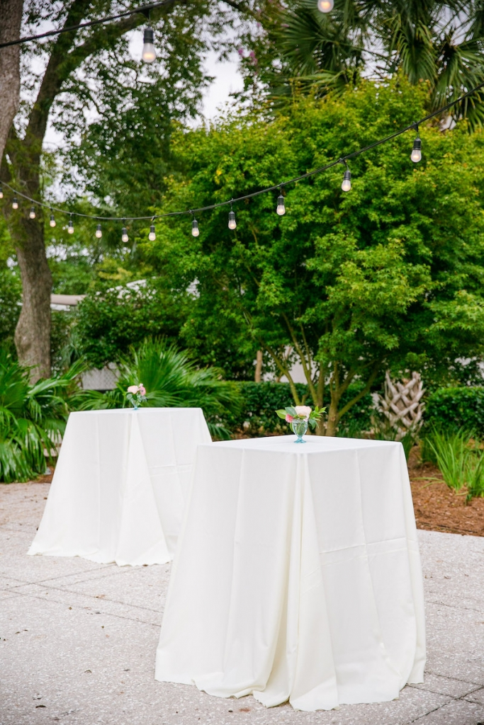 Wedding design by Pure Luxe Bride. Rentals from EventWords. Lighting by Innovative Event Services. Image by Dana Cubbage Weddings at Lowndes Grove Plantation.