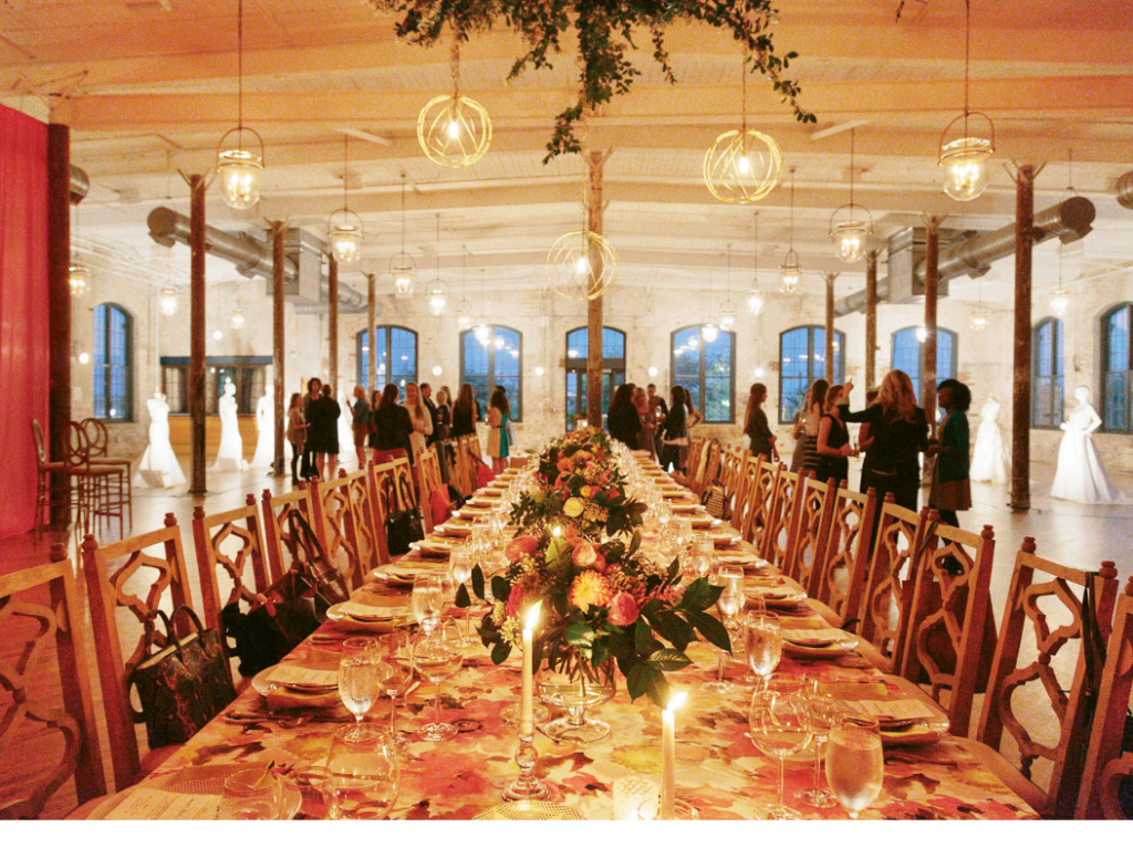 The Cedar Room styled by  YOJ Events and catered by  Mercantile and Mash with rentals from EventHaus  and Polished!