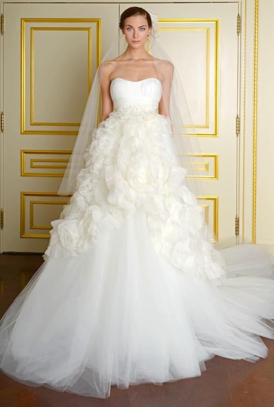 """Marchesa's """"Meaghan W."""" Available in Charleston through White on Daniel Island."""